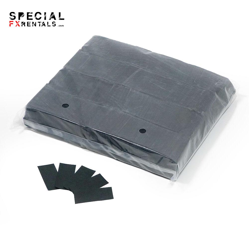 Black Tissue Confetti Special FX Rentals