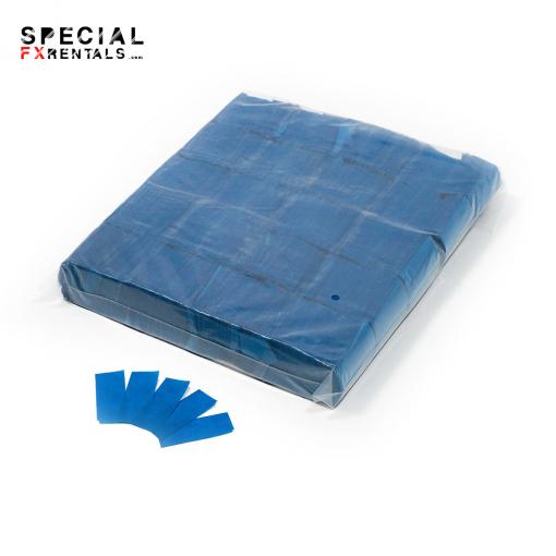 Blue Tissue Confetti Special FX Rentals