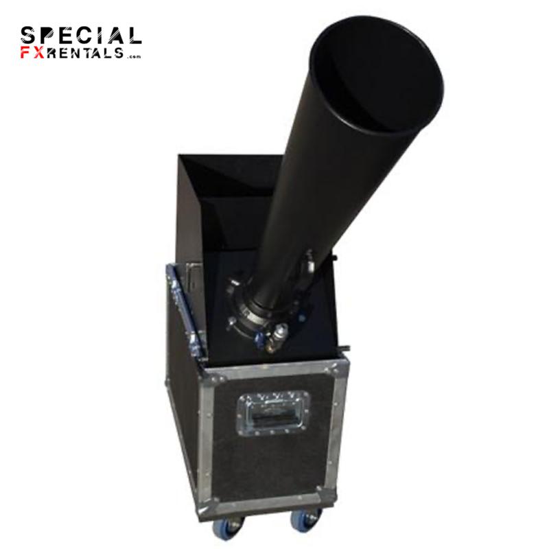 Continuous Flow Confetti Cannon Rental 3 Gerb Special FX Rentals