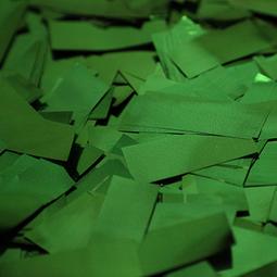 Green Metallic Confetti - Green Mylar Confetti Special Fx Sales