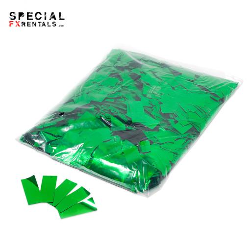 Green Mylar Confetti Special FX Rentals