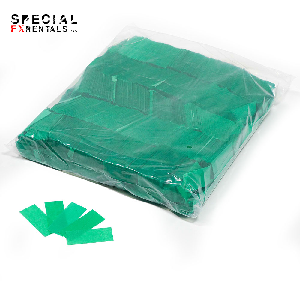 Green Tissue Confetti Special FX Rentals