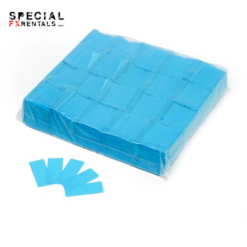 Light Blue Tissue Confetti Special FX Rentals