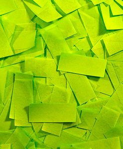 Light Green Tissue Confetti Sale Special FX Rentals