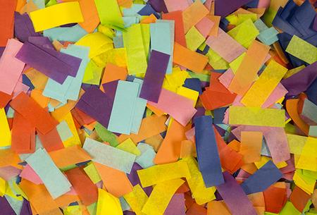 Multicolor Tissue Confetti Sale Special FX Rentals