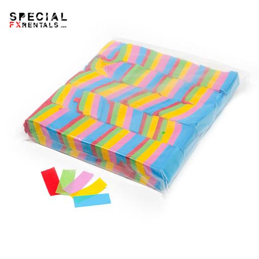 Multicolor Tissue Confetti Special FX Rentals