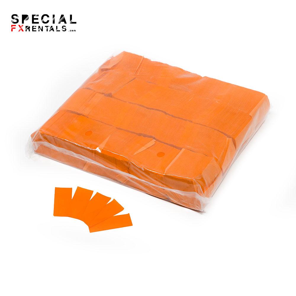Orange Tissue Confetti Special FX Rentals