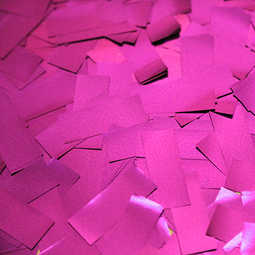 Pink Metallic Confetti - Pink Mylar Confetti Special Fx Sales