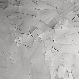 Silver Metallic Confetti - Silver Mylar Confetti Special Fx Sales