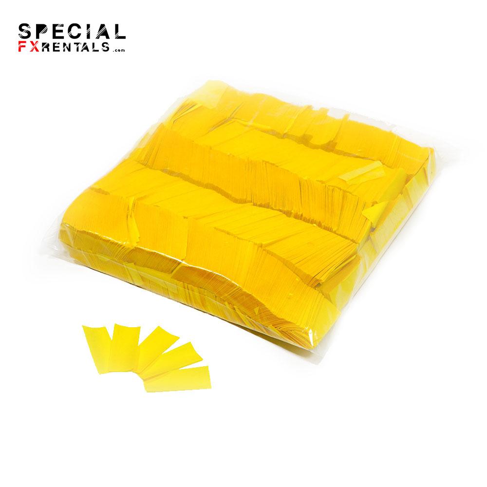 Yellow Tissue Confetti Special FX Rentals