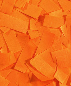orange Tissue Confetti Sale Special FX Rentals