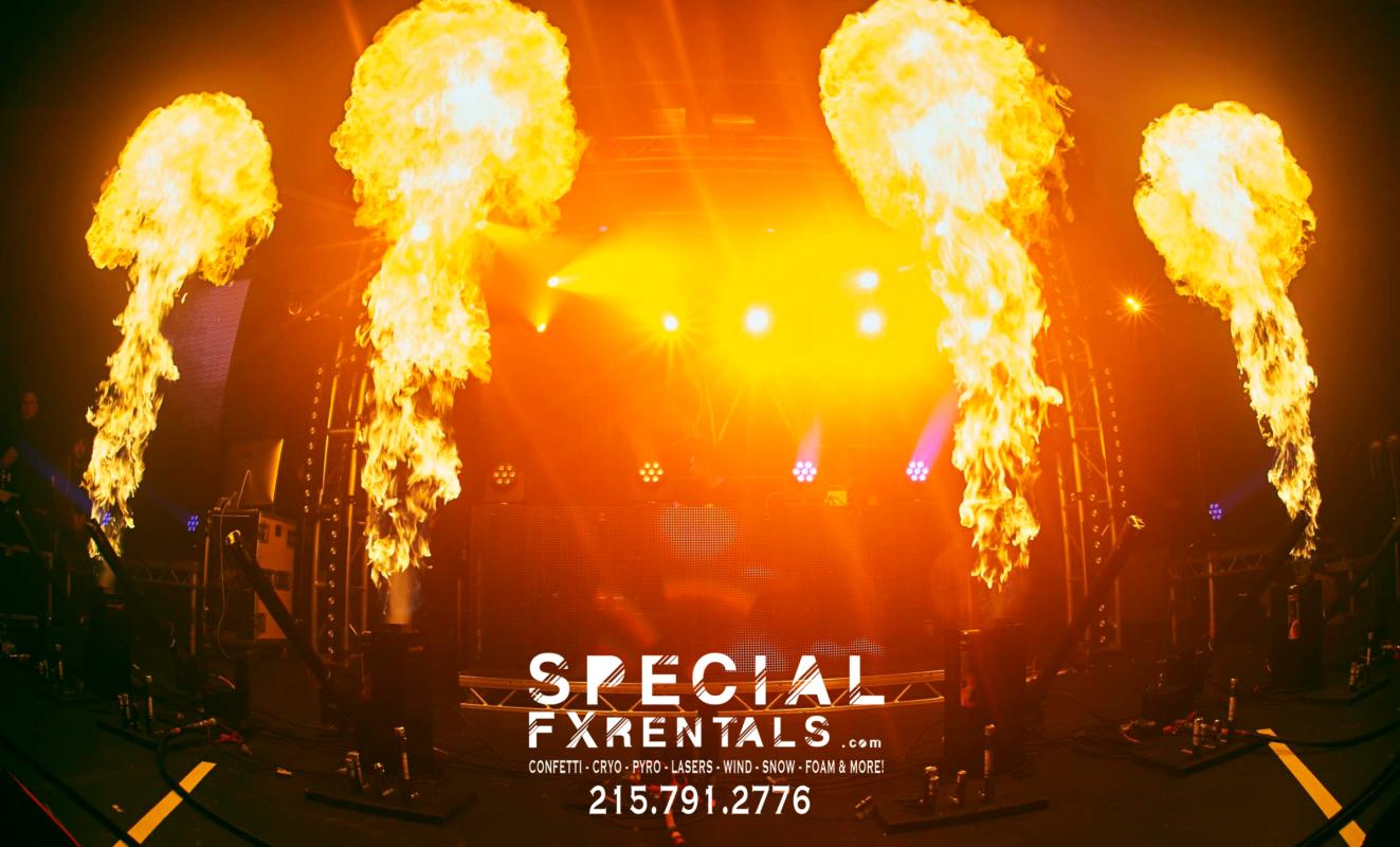 Stage Flame Machine Rental Special FX Rentals