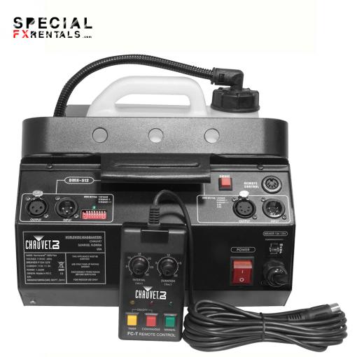 Chauvet DJ Hurricane 1800 Flex Fog Machine Rental Special FX Rentals 1