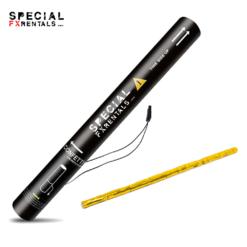 Gold Streamer Metallic Mylar Confetti Electric Confetti Shooter E-Cartridge Special FX Rentals