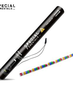 Multicolor Streamer Metallic Mylar Confetti Electric Confetti Shooter E-Cartridge Special FX Rentals