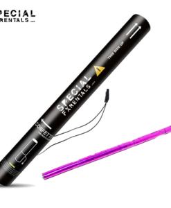 Pink Streamer Metallic Mylar Confetti Electric Confetti Shooter E-Cartridge Special FX Rentals