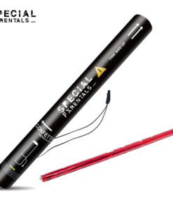 Red Streamer Metallic Mylar Confetti Electric Confetti Shooter E-Cartridge Special FX Rentals
