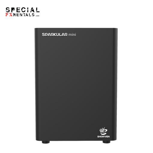 Showven Sparkular Mini Cold Spark Machine Rental Special FX Rentals