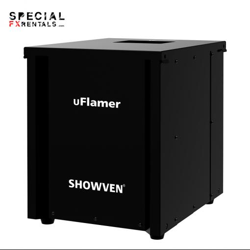 Showven uFlamer Rental Dry Hire Special FX Rentals