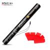 red Rectangle Tissue Confetti Electric Confetti Shooter E-Cartridge Special FX Rentals
