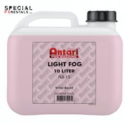 Antari FLR-10 Fast-Dissipating Fog Fluid for Antari Fog Machines (1 Gallon, Red Formula)