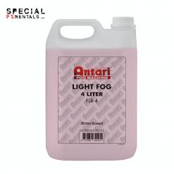 Antari FLR-4 Fast-Dissipating Fog Fluid for Antari Fog Machines (1 Gallon, Red Formula)