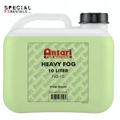 Fog Fluid For Sale | Antari FLG-10 Long-Lasting Fog Fluid for Antari Fog Machines (1 Gallon, Green Formula) | Special FX Sales