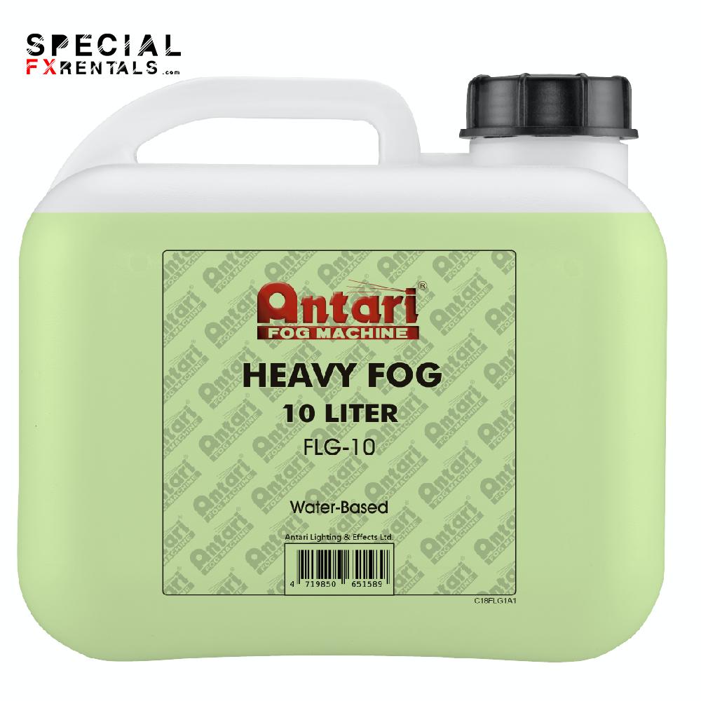 Fog Fluid For Sale   Antari FLG-10 Long-Lasting Fog Fluid for Antari Fog Machines (1 Gallon, Green Formula)   Special FX Sales