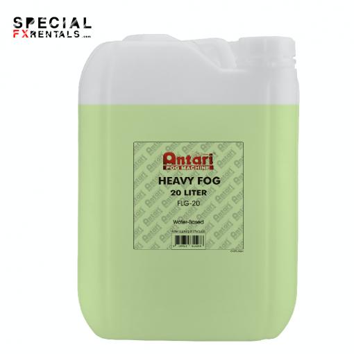 Fog Fluid For Sale | Antari FLG-20 Long-Lasting Fog Fluid for Antari Fog Machines (1 Gallon, Green Formula) | Special FX Sales