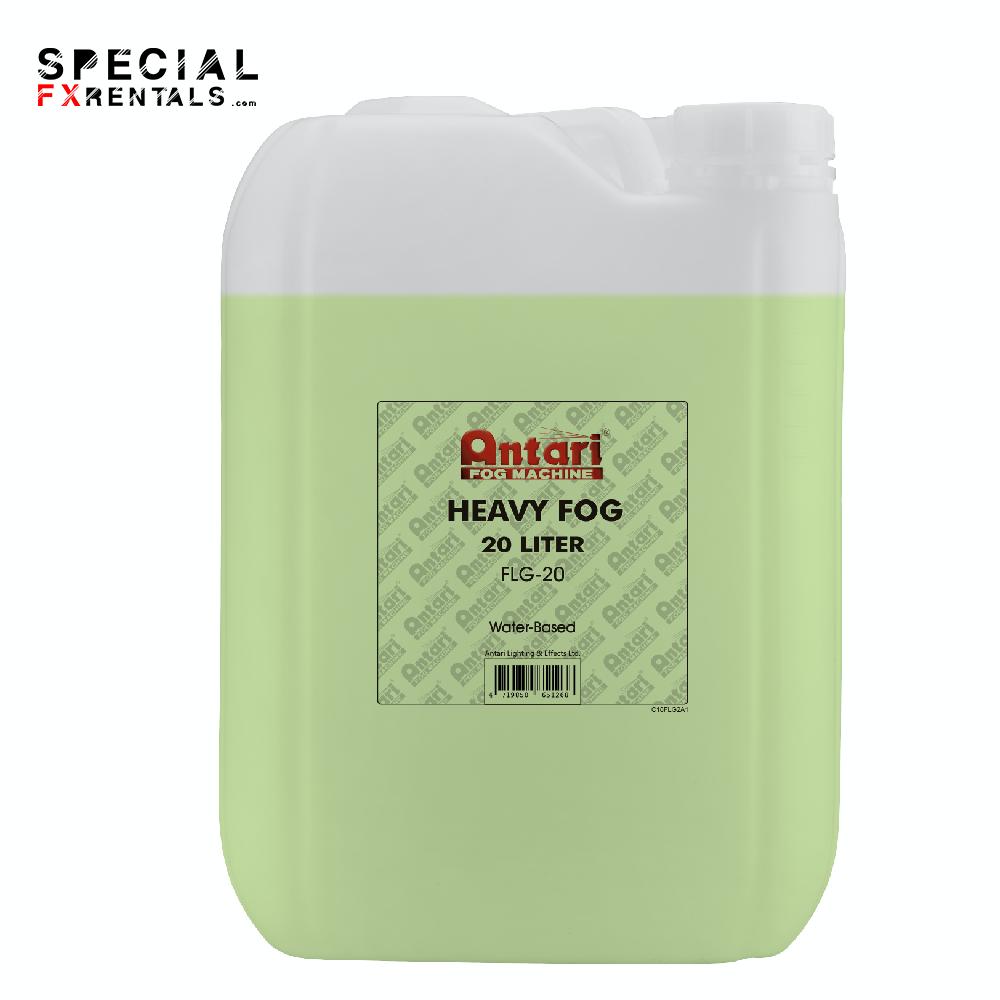Fog Fluid For Sale   Antari FLG-20 Long-Lasting Fog Fluid for Antari Fog Machines (1 Gallon, Green Formula)   Special FX Sales