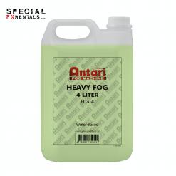 Fog Fluid For Sale | Antari FLG-4 Long-Lasting Fog Fluid for Antari Fog Machines (1 Gallon, Green Formula) | Special FX Sales