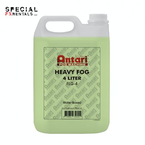 Fog Fluid For Sale   Antari FLG-4 Long-Lasting Fog Fluid for Antari Fog Machines (1 Gallon, Green Formula)   Special FX Sales