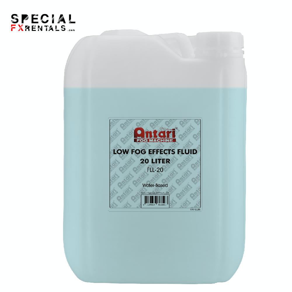 Low Lying Fog Fluid For Sale   Antari FLL-20 Low Fog Effects Fluid for Antari Fog Machines (1 Gallon, Blue Formula)   Special FX Rentals