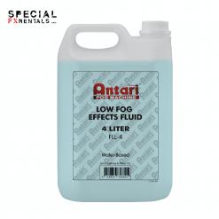 Low Lying Fog Fluid For Sale | Antari FLL-4 Low Fog Effects Fluid for Antari Fog Machines (1 Gallon, Blue Formula) | Special FX Rentals