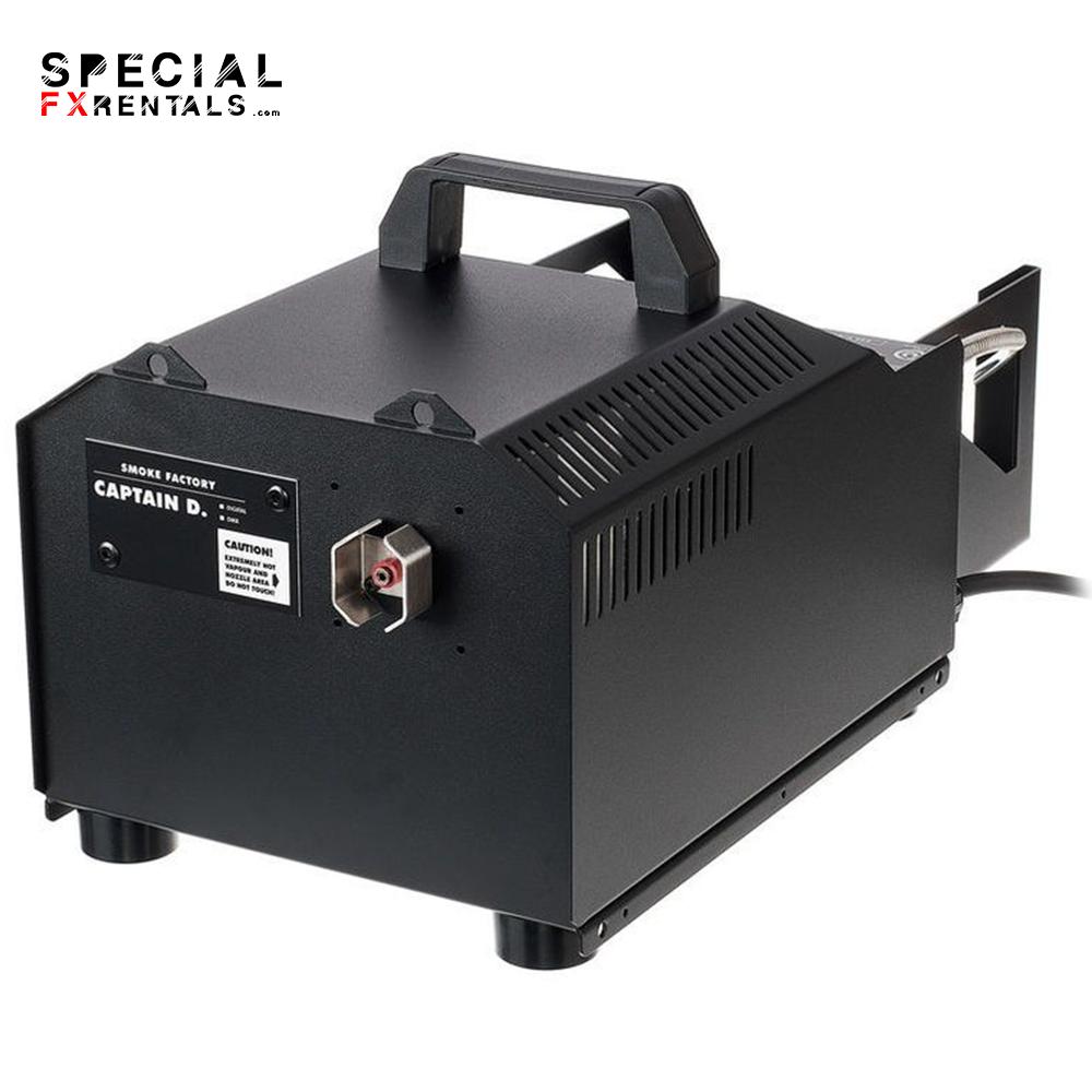 Smoke Factory Captain D Water-Based Fog Machine Fog Machine Rental   Special FX Rentals
