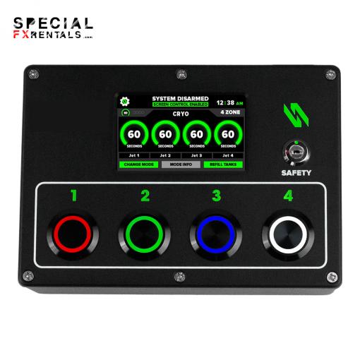 Cryo Jet DMX Controller Nationwide Rental Special FX Rentals