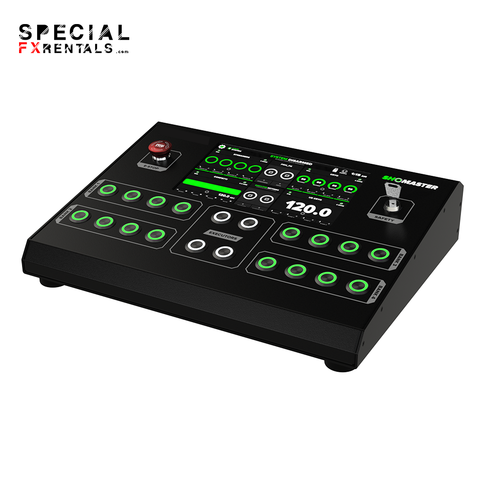 Shomaster DMX Controller Rental Special FX Rentals