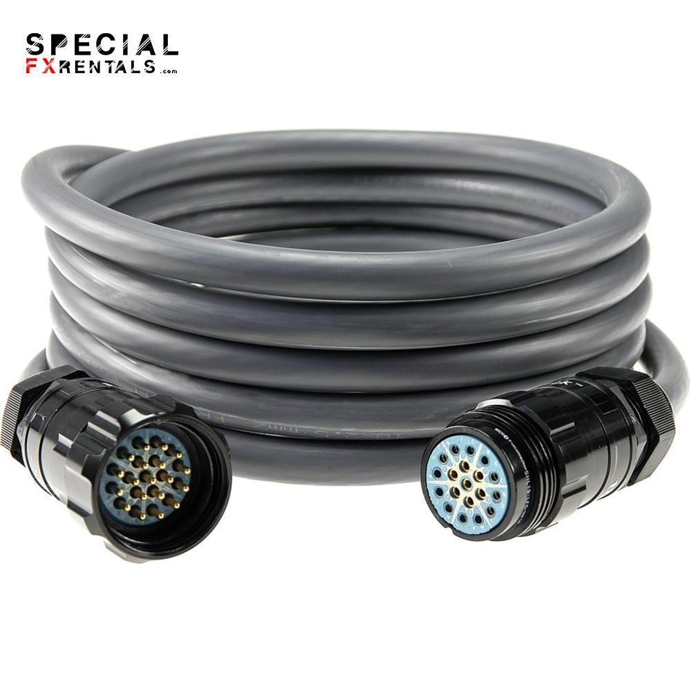 Socapex Cable 19-Pin – 100′ Rental Special FX Rentals