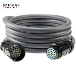 Socapex Cable 19-Pin – 50′ Rental Special FX Rentals